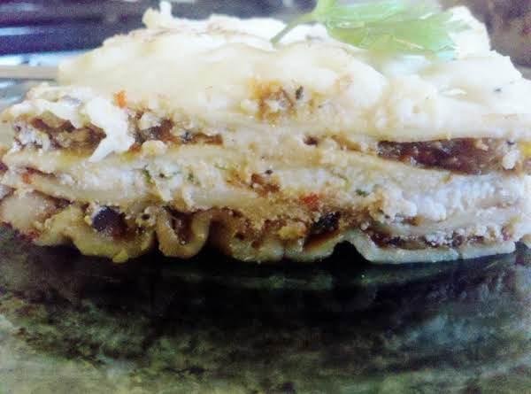 White Roasted Vegetable Lasagna Recipe