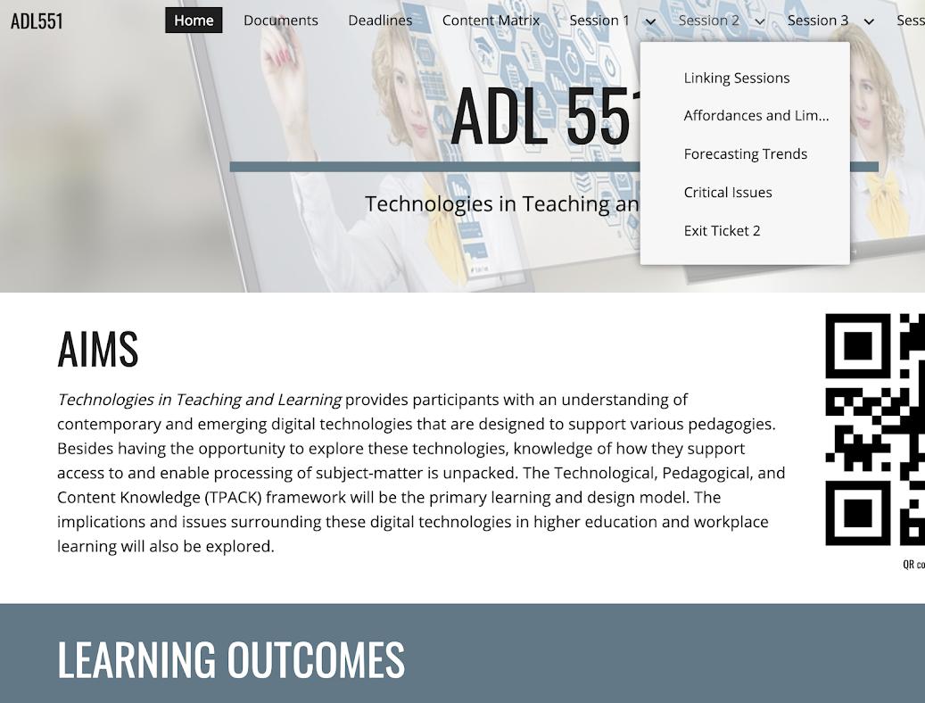 ADL551 Google Site