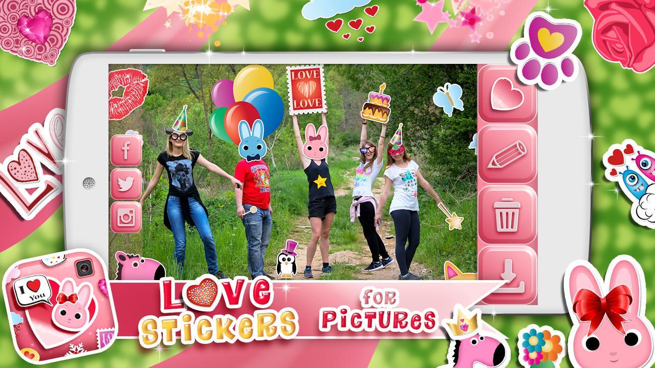Cinta Stiker Untuk Gambar Apl Android Di Google Play