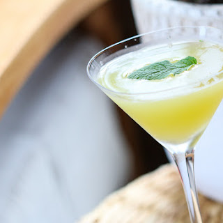 Spicy Chipotle Pineapple Martini.
