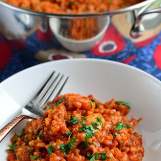 Spicy Spanish Chicken with Rice