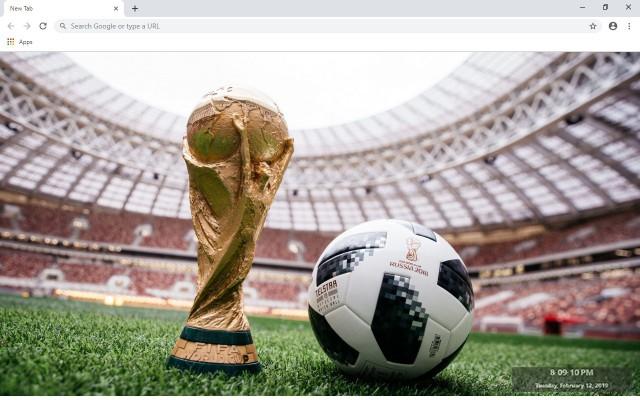 FIFA Soccer Custom New Tab