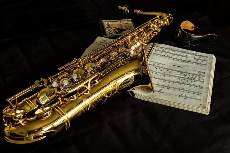 Body and Soul Tenor Sax by Izzy Kapetanovic - Artistic Objects Musical Instruments ( sax )