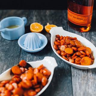 Bourbon Brown Sugar Carrots.