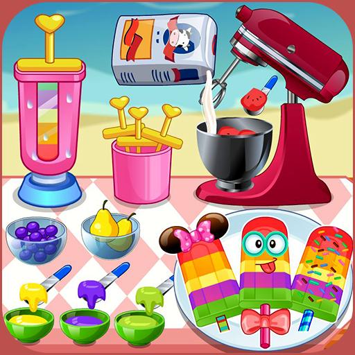 Cook ice pop maker multi color Icon