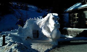 Photo: Snow Dragon