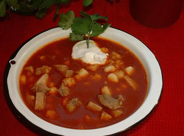 Spring Hill Ranch's Red Or Green Posole