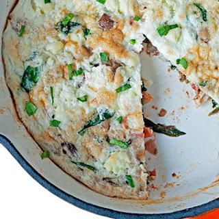 Mediterranean Egg White Frittata.