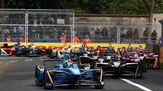 Motorsport: Formel E i Rom, Italien