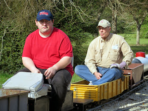 Photo: Chris Tolley and Bob Barnett  HALS OPS Day 2014-0329 RPW
