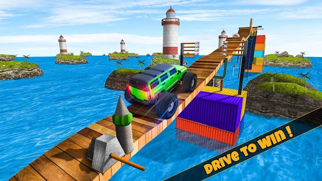 Jeep Stunt Tricks Master apk screenshot