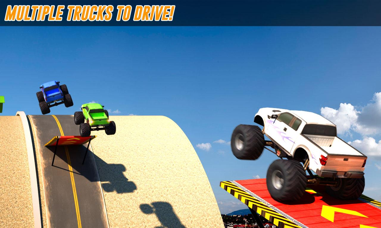 Download Grand Monsters Truck Stunts Mod Apk