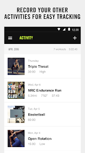 NIKE+ TRAINING CLUB Screenshot 4