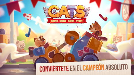 Descargar CATS: Crash Arena Turbo Stars APK MOD Hackeado 5
