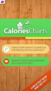 Calorie Chart screenshot 0