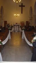 Photo: Izgled župne crkve prije početka radova novog prezbiterija