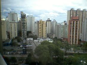 Photo: Os muros de São Paulo vistos de uma janela!