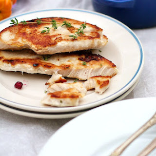 Quick Pan Seared Turkey Cutlets