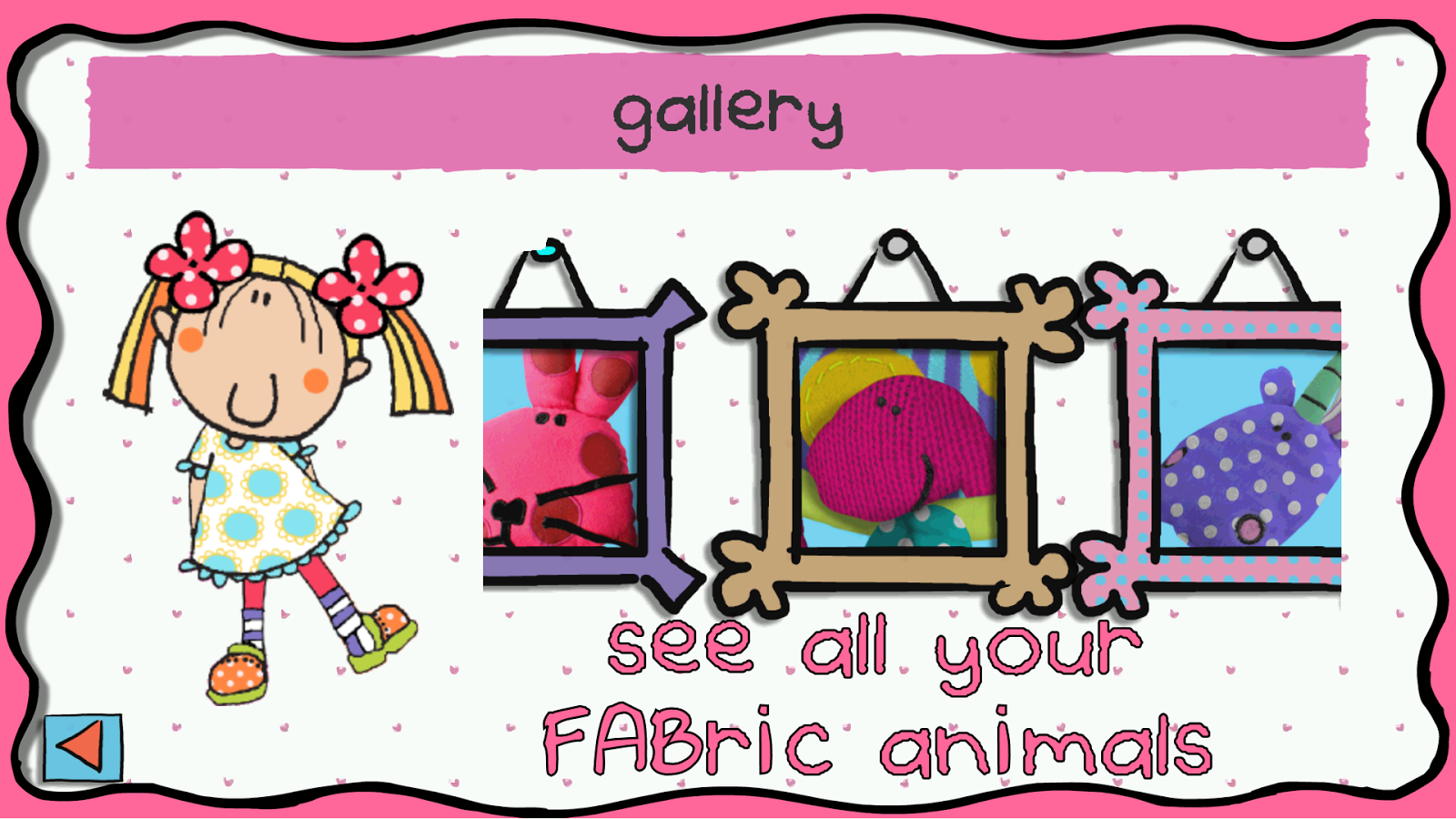FABric animals starring Emily- screenshot