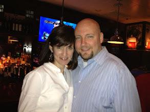 Photo: Sharon and Patrick