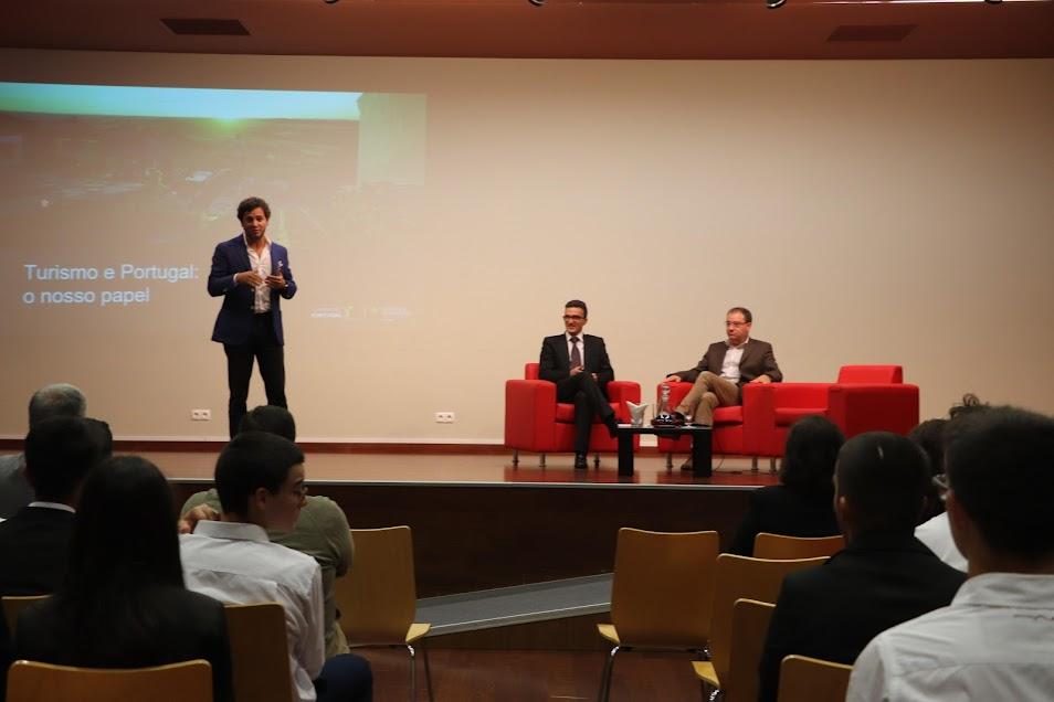 Presidente do Turismo de Portugal em Aula Inaugural na Escola de Hotelaria do Douro-Lamego