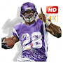 Adrian Peterson Wallpaper NFL APK icon