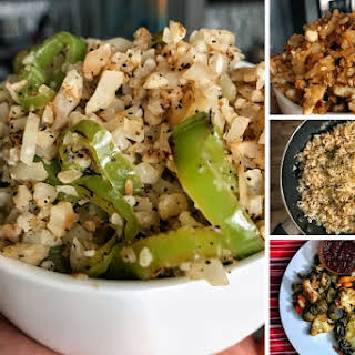 Simple Cauliflower Fried Rice Recipes.