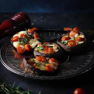 Caprese Stuffed Portobello Mushrooms (Video).