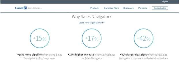 avantages sales navigator