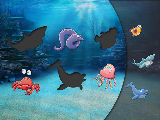 Sorter Puzzle for kids: Fishes