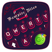 Vampire Bite GO Keyboard Theme