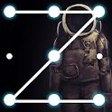 Black AppLock icon