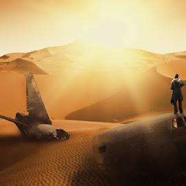 Abberate by Frank Quax - Digital Art People ( sand, fantasy, dessert, photoshop, manipulation, people, creative, landscape, editing )