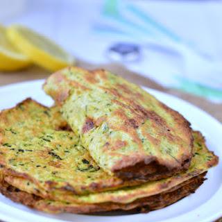 Healthy Zucchini Tortilla