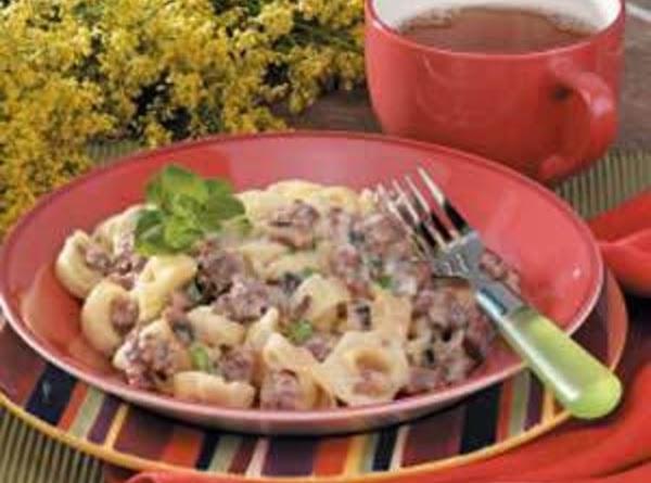 Tortellini And Sausage Alfredo Recipe