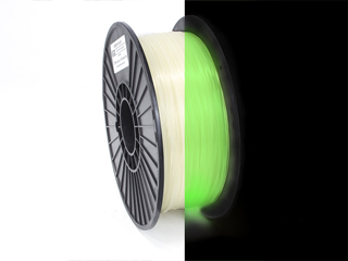Glow-In-The-Dark 3d printing filament