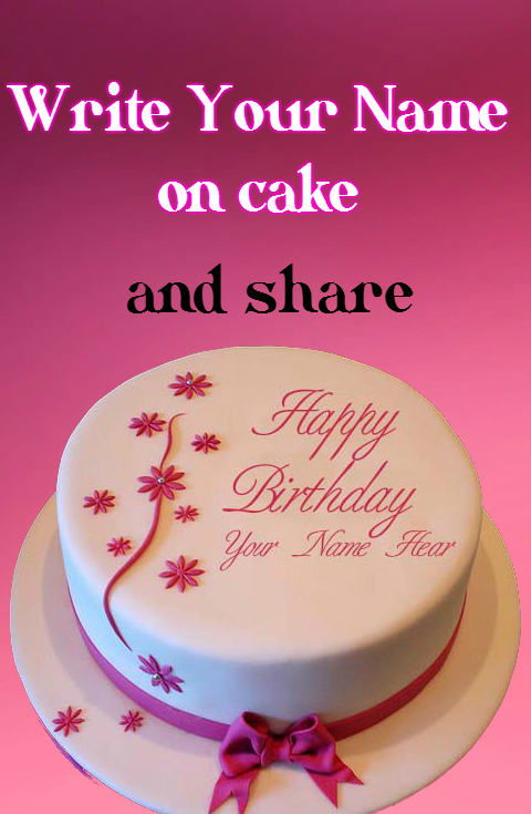 Cake with Name wishes- screenshot