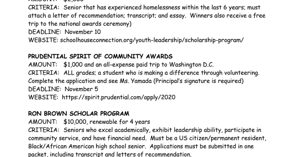 November Scholarships pdf - Google Drive