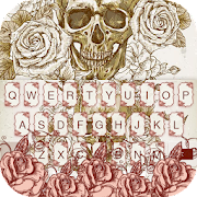 App Cool Skull keyboard theme apk for kindle fire