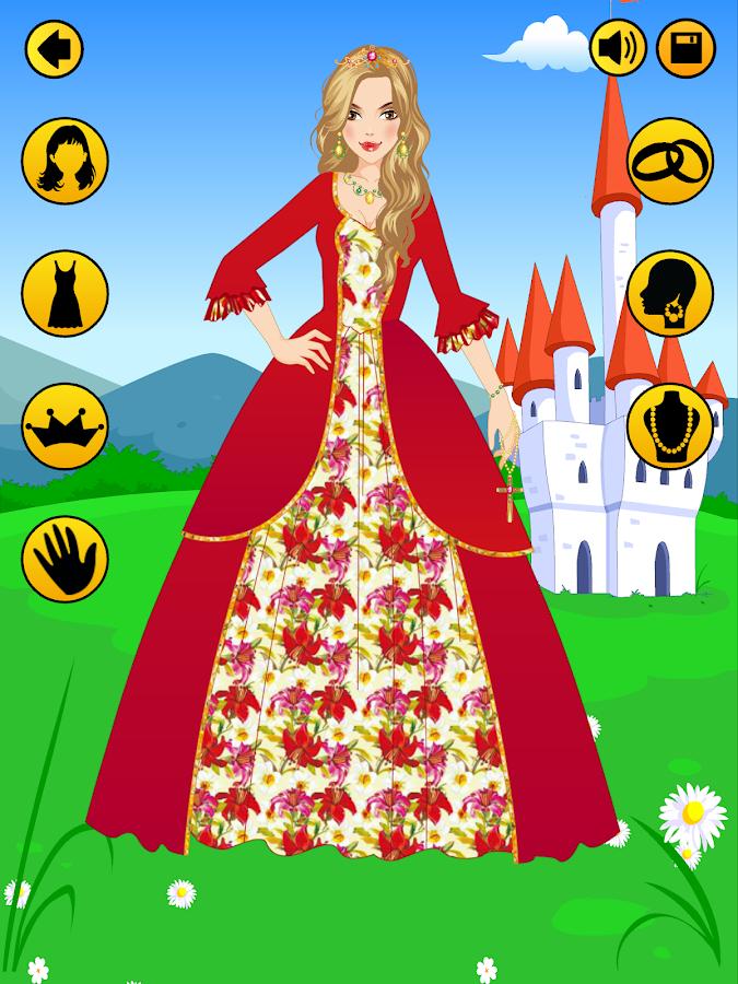 Makeup Salon Games Dress Up Stylish Princess Android