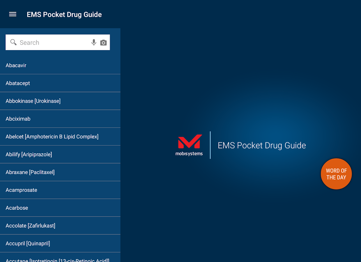 EMS Pocket Drug Guide- screenshot