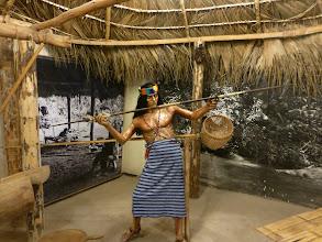 Photo: Museum exhibit of indigenous people