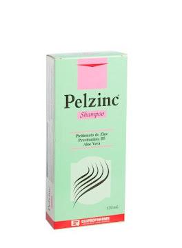Shampoo Pelzinc   Piritionato De Zinc Provitamina B5 Aloe Vera X120Ml.