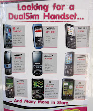 Photo: Apparently DualSim is in demand also in Africa (not only in India)