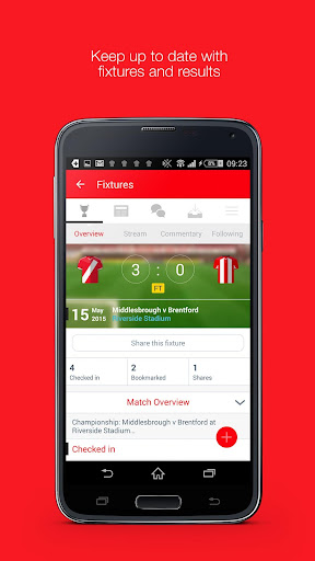 Fan App for Brentford FC