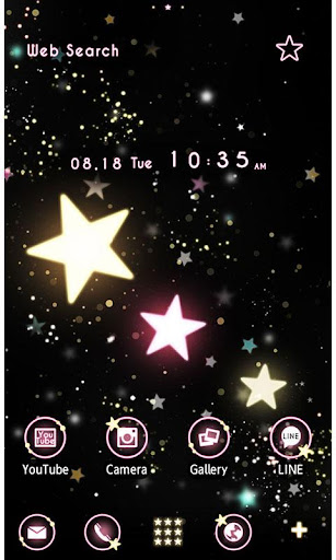 Cute Theme-Starry Heavens- 1.0.1 Windows u7528 1