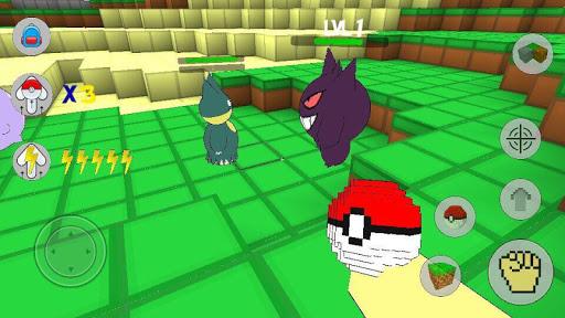 Pixelmon Cube world craft & build : exploration GO for PC