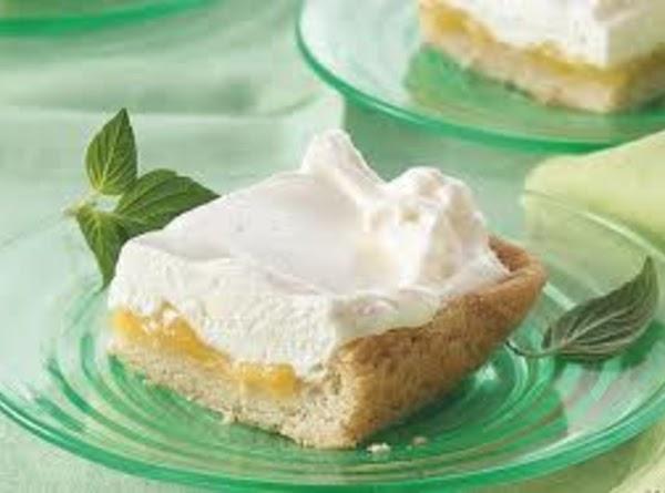 Mock Lemon Meringue Bars Recipe