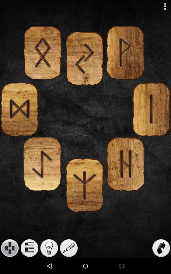 Galaxy Runes- screenshot