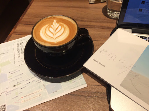 環境美,咖啡也很好喝。唯獨人太多了。